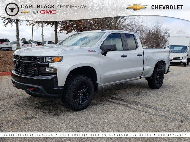 New 2019 Chevrolet Silverado 1500 Custom Trail Boss Extended Cab