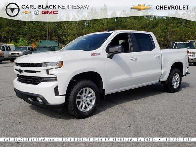 New 2019 Chevrolet Silverado 1500 Rst Crew Cab Pickup In Kennesaw