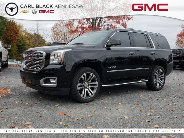 Carl Black Chevy Kennesaw >> Pre-Owned 2019 GMC Yukon Denali Sport Utility in Kennesaw ...
