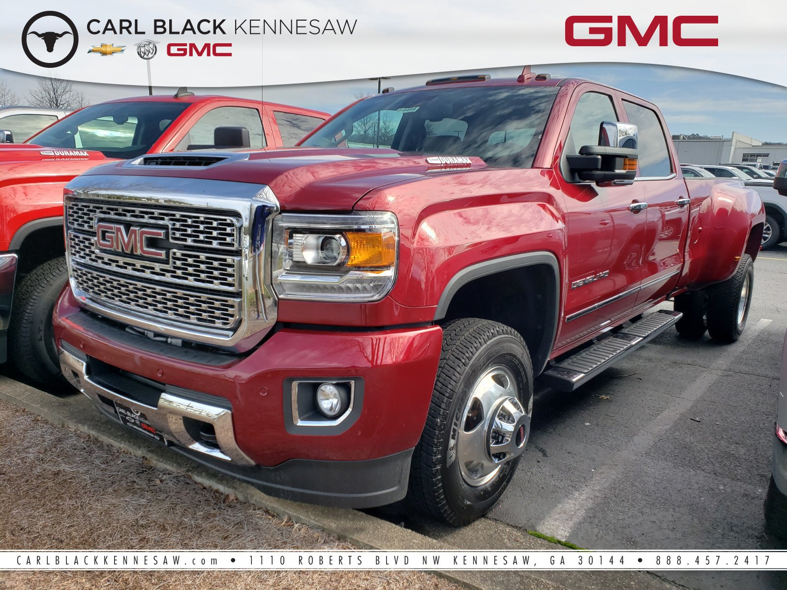 New 2019 Gmc Sierra 3500hd Denali Crew Cab Pickup In Kennesaw