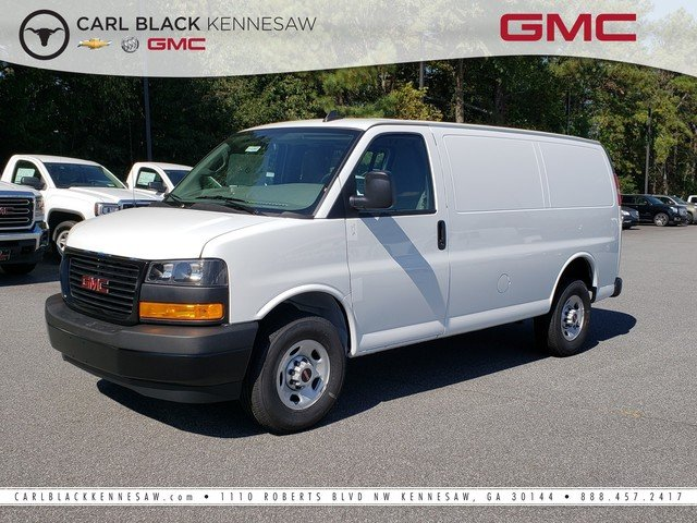 New 2018 GMC Savana Cargo Van
